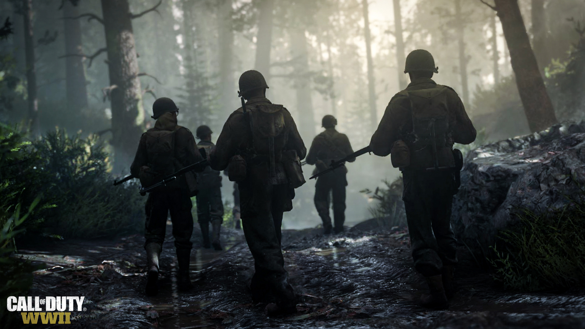 Imagen promocional de <em><strong>Call of Duty: World War 2.</strong></em>