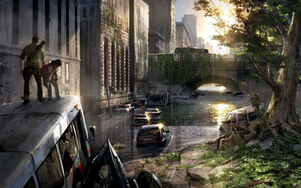 La idea de progreso en los videojuegos. El colapso de la civilización en The Last of Us retrotrae a la sociedad a un estado primitivo y salvaje.