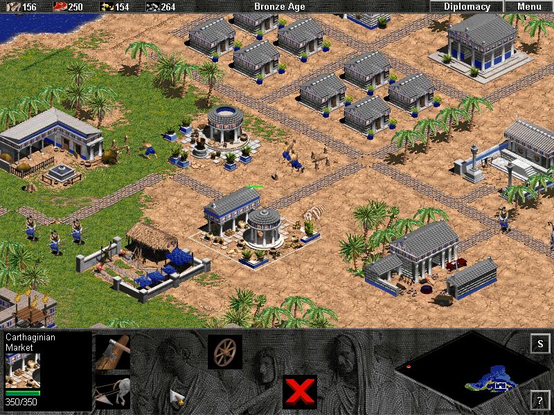 La idea de progreso en los videojuegos. Edad del Bronce.