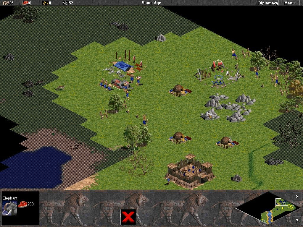 La idea de progreso en los videojuegos. Edad de Piedra.