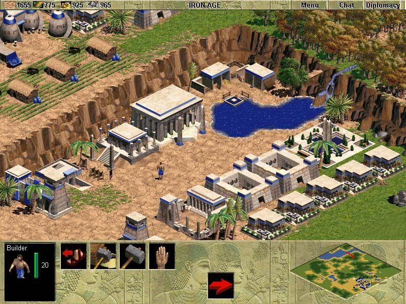 La idea de progreso en los videojuegos. Edad de Hierro.