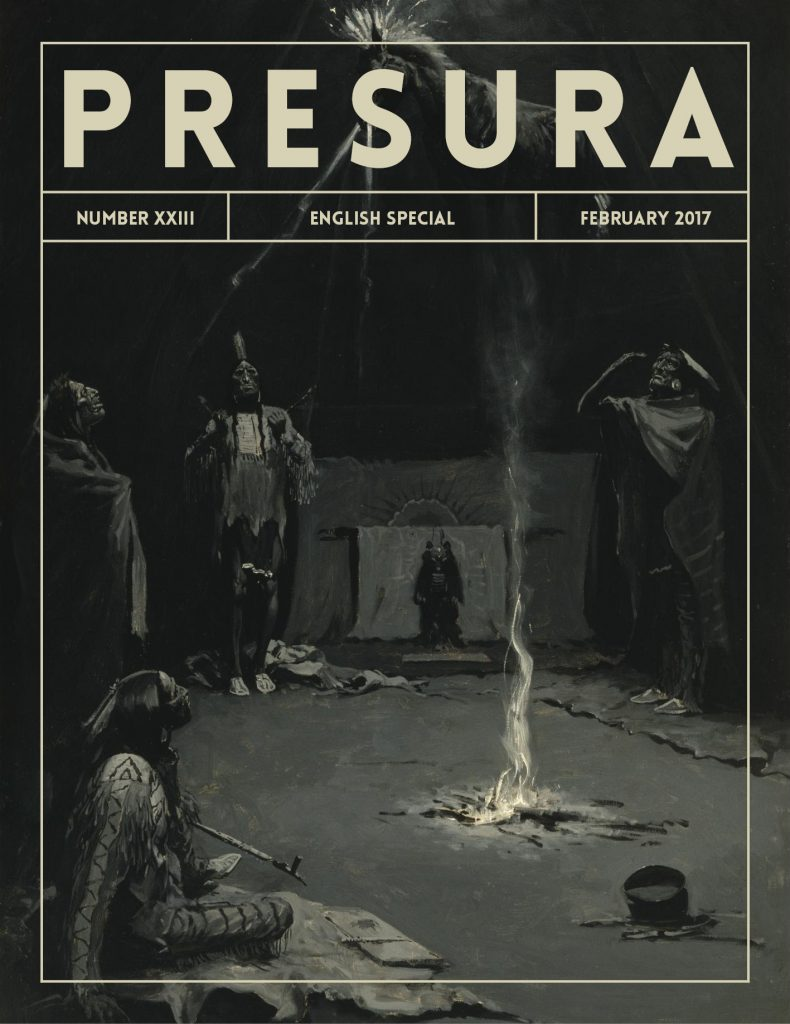 Cover of the 23 number of Presura.