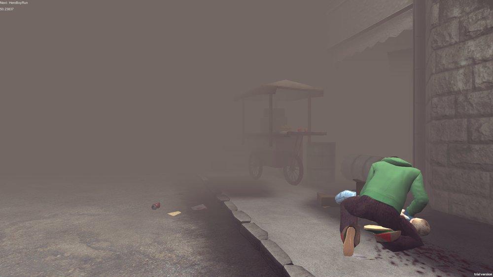 Captura de pantalla de Project Syria, una de las mejores muestras de la relación entre la Guerra de Siria y los videojuegos.