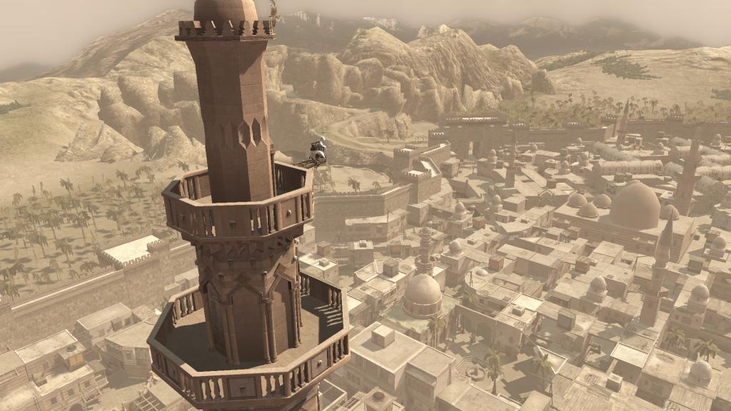 ciudad en el videojuego.