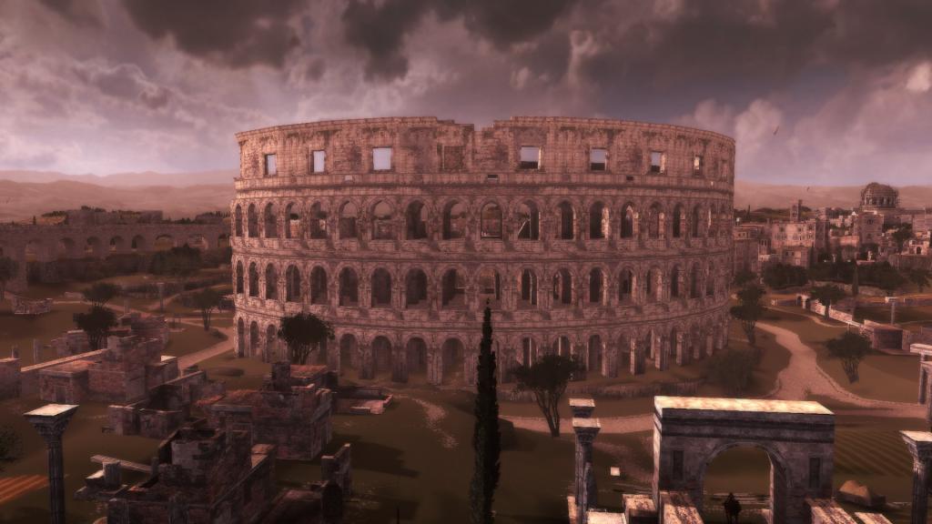 ciudad en el videojuego